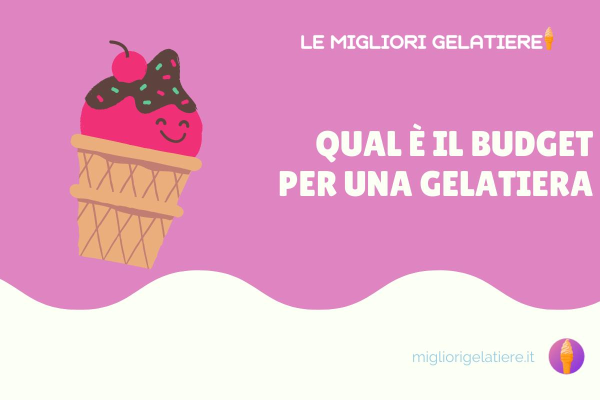 budget per una gelatiera